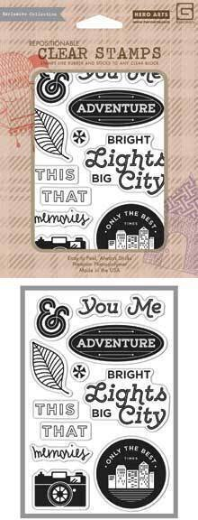 Bright Lights - Clear Stamps