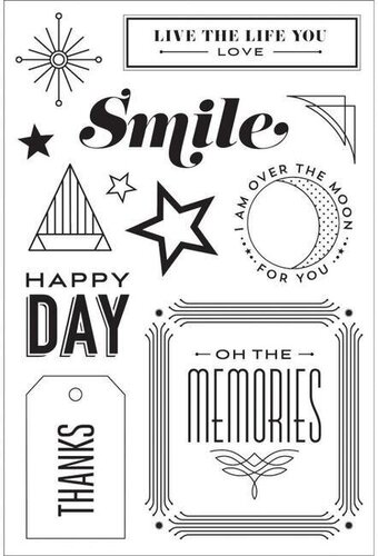 Happy Day - Clear Stamps