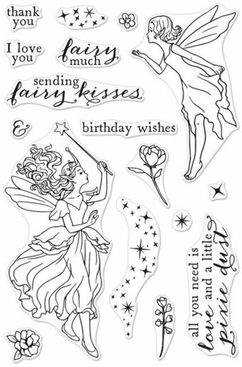 Fairy Kisses - Clear Stamp