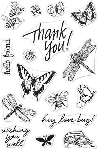 Bugs - From The Vault Clear Stamp