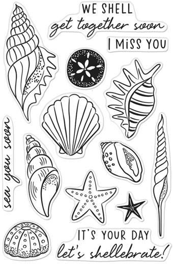 Sea You Soon - Clear Stamp