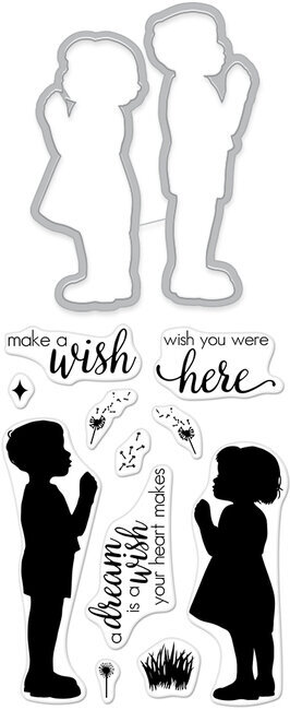 Wish I May - Clear Stamps With Matching Dies
