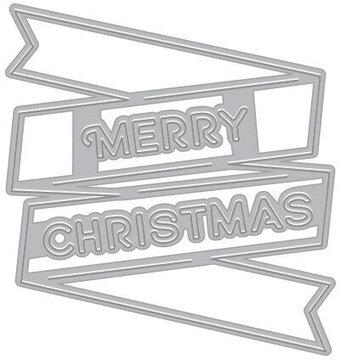 4c2d0fc55094 Merry Christmas Banner - Craft Die
