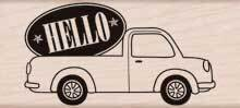 Hello Delivery - Rubber Stamp