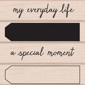 My Everyday Life - Rubber Stamp