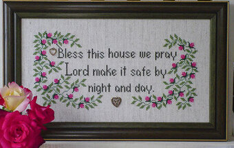 House Blessing - Cross Stitch Pattern