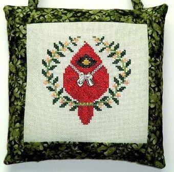 Spring Cardinal - Cross Stitch Pattern
