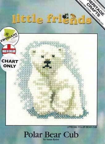 Polar Bear Cub - Cross Stitch Pattern