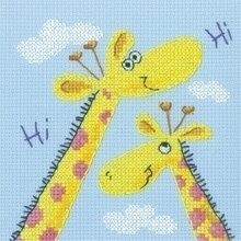 Giraffes - Cross Stitch Pattern