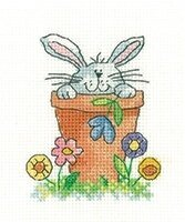 Peeping - Cross Stitch Pattern