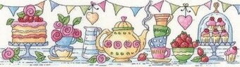 Afternoon Tea - Cross Stitch Pattern