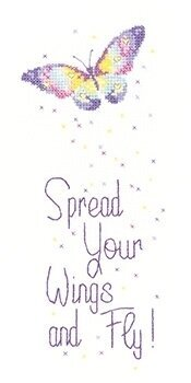 Spread Your Wings - Peter Underhill - Cross Stitch Pattern