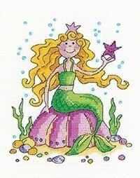 Mermaid - Cross Stitch Pattern