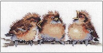 Three's a Crowd - Cross Stitch Pattern