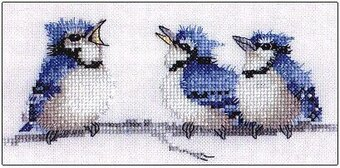 Blues, The - Cross Stitch Pattern