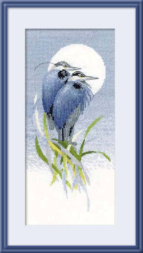 Moon Watchers - Cross Stitch Pattern