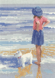 Wave Watching - Cross Stitch Pattern