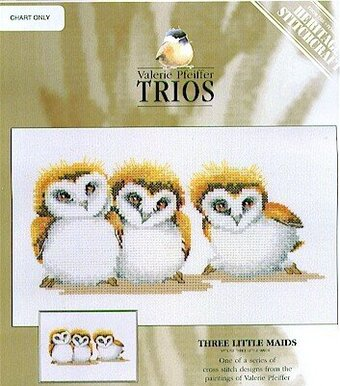 Three Little Maids - Cross Stitch Pattern