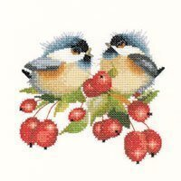 Berry Chick Chat - Cross Stitch Pattern