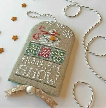 Ready, Set, Snow - Cross Stitch Pattern
