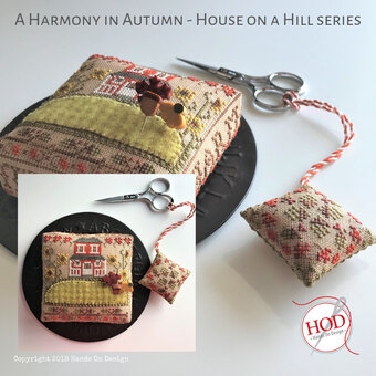 Harmony in Autumn - House on a Hill - Cross Stitch Pattern