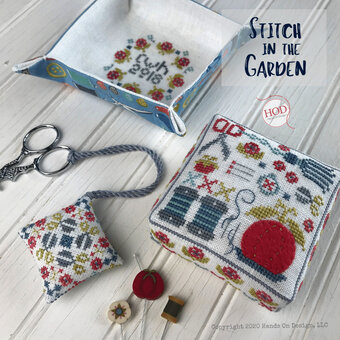 Stitch in the Garden - Cross Stitch Pattern