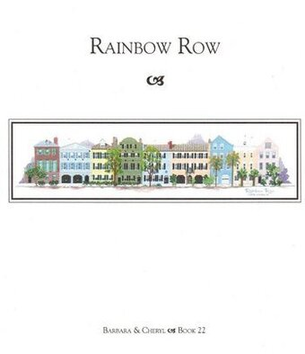Rainbow Row - Cross Stitch Pattern