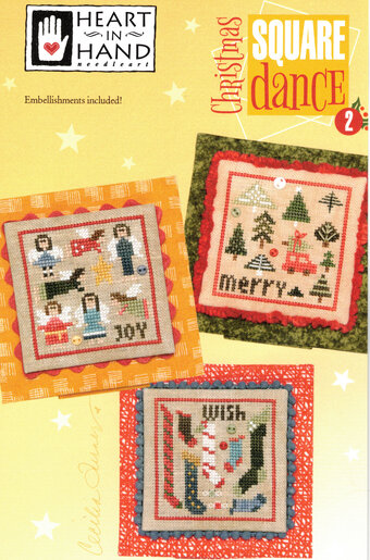 Christmas Square Dance Part 2 - Cross Stitch Pattern