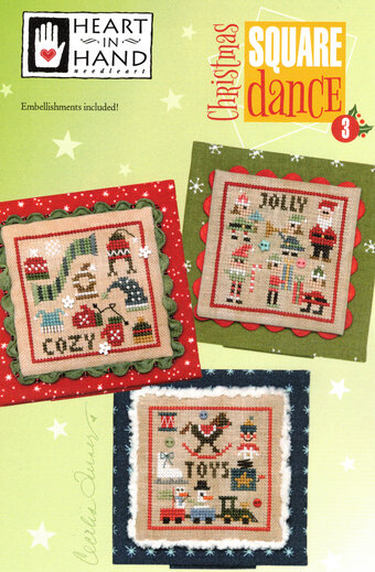 Christmas Square Dance 3 - Cross Stitch Pattern