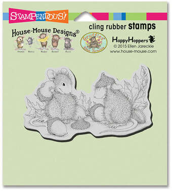 Acorn Cap - House-Mouse Cling Rubber Stamp