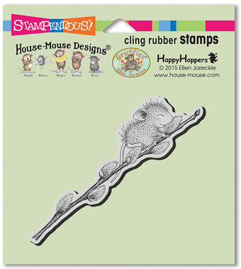Willow Climb - House Mouse Cling Rubber Stamp