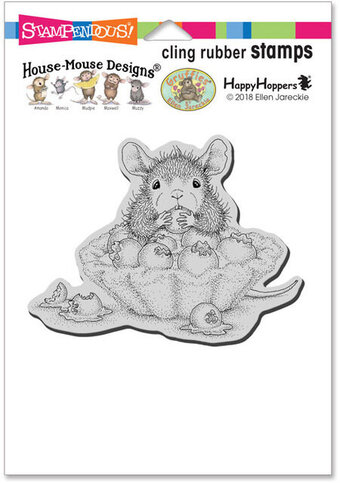 Blueberry Tart - House Mouse Cling Rubber Stamp