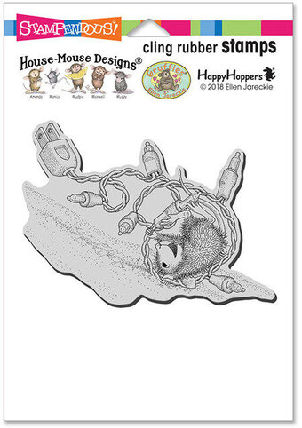 Tangle Tumble - House Mouse Cling Rubber Stamp