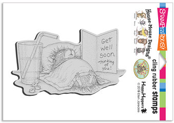 Get Well Soon - Cling Stamp