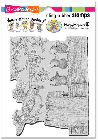 Tweet Treat - House Mouse Cling Rubber Stamp