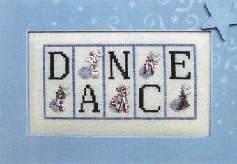 Dance - Cross Stitch Pattern