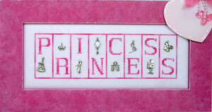 Princess - Cross Stitch Pattern
