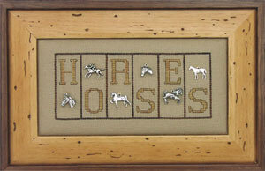 Horses - Cross Stitch Pattern