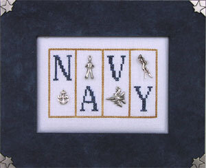 Navy - Cross Stitch Pattern