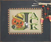 Vintage Halloween Jack - Cross Stitch Pattern