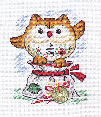 A Little Bag of Happiness - Cross Stitch Kit