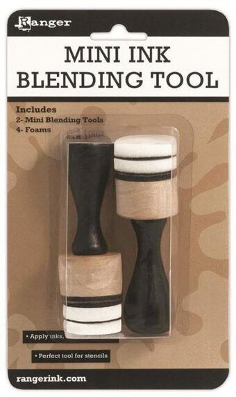 how to use mini ink blending tool