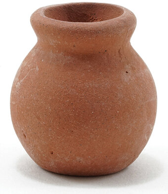 Clay Pot - Dollhouse Miniature