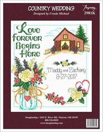 Country Wedding - Cross Stitch Kit