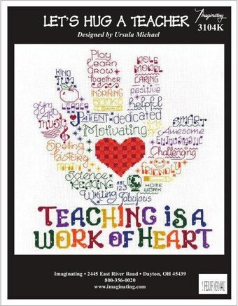 Let's Hug A Teacher - Cross Stitch Kit