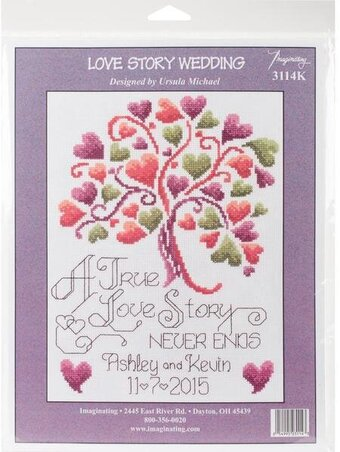 Love Story - Wedding Cross Stitch Kit