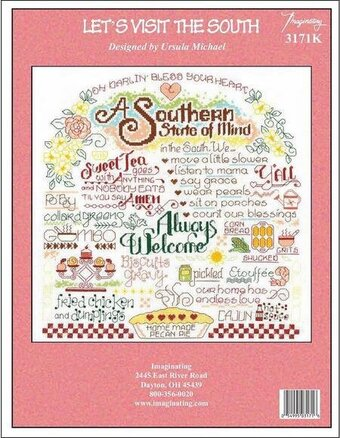 Let's Visit The South - Cross Stitch Kit