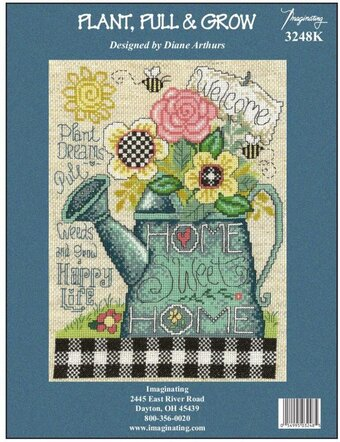 Plant, Pull And Grow - Counted Cross Stitch Kit