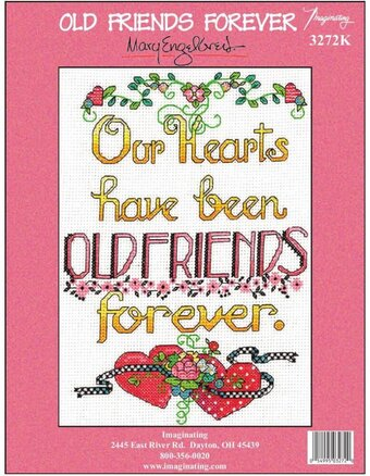 Old Friends Forever (14 Count) - Cross Stitch Kit