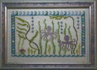 Octopus's Garden - Cross Stitch Pattern
